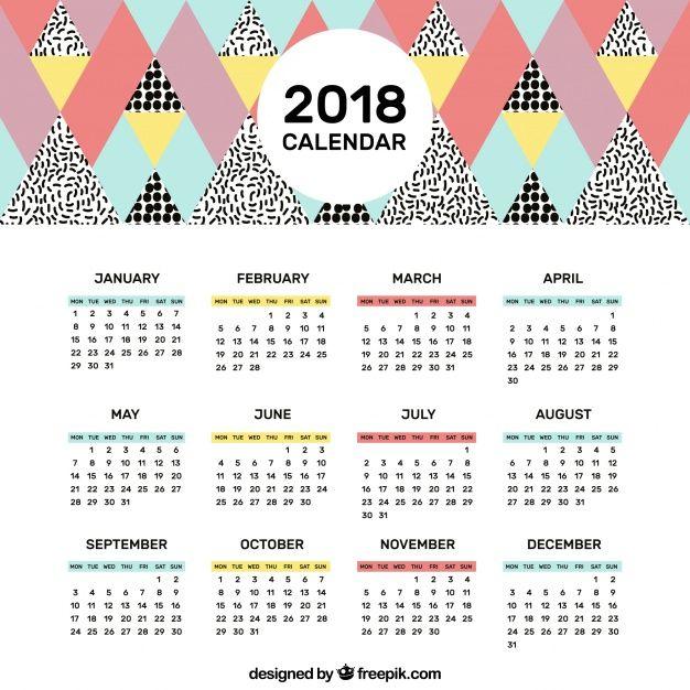 Calend rio de 2018 tem 13 feriados nacionais e 37 dias de for Almanaque de pared 2018